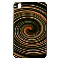 Strudel Spiral Eddy Background Samsung Galaxy Tab Pro 8 4 Hardshell Case by Nexatart