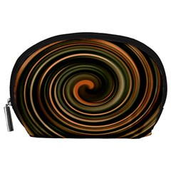 Strudel Spiral Eddy Background Accessory Pouches (large)