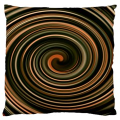Strudel Spiral Eddy Background Large Flano Cushion Case (two Sides) by Nexatart