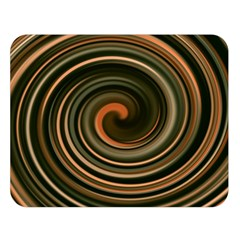 Strudel Spiral Eddy Background Double Sided Flano Blanket (large)