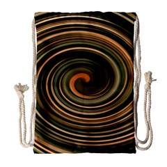 Strudel Spiral Eddy Background Drawstring Bag (large) by Nexatart