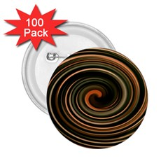 Strudel Spiral Eddy Background 2.25  Buttons (100 pack)