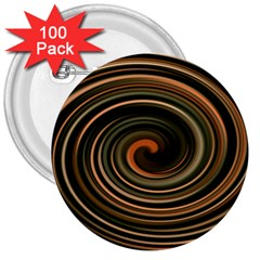 Strudel Spiral Eddy Background 3  Buttons (100 Pack)