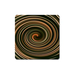 Strudel Spiral Eddy Background Square Magnet by Nexatart