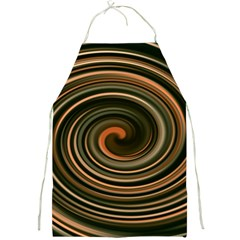 Strudel Spiral Eddy Background Full Print Aprons by Nexatart