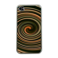 Strudel Spiral Eddy Background Apple Iphone 4 Case (clear)