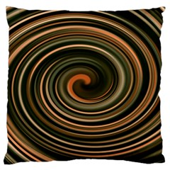 Strudel Spiral Eddy Background Large Cushion Case (two Sides) by Nexatart