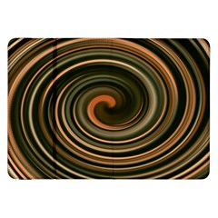 Strudel Spiral Eddy Background Samsung Galaxy Tab 8 9  P7300 Flip Case by Nexatart