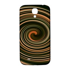 Strudel Spiral Eddy Background Samsung Galaxy S4 I9500/i9505  Hardshell Back Case by Nexatart