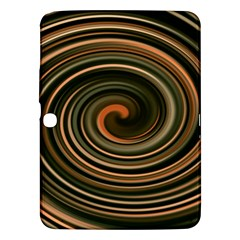 Strudel Spiral Eddy Background Samsung Galaxy Tab 3 (10 1 ) P5200 Hardshell Case  by Nexatart