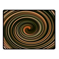 Strudel Spiral Eddy Background Double Sided Fleece Blanket (small)