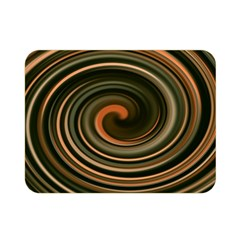 Strudel Spiral Eddy Background Double Sided Flano Blanket (mini)  by Nexatart