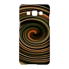 Strudel Spiral Eddy Background Samsung Galaxy A5 Hardshell Case  by Nexatart
