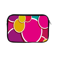 Paint Circle Red Pink Yellow Blue Green Polka Apple Ipad Mini Zipper Cases by Mariart
