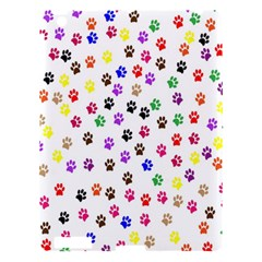 Paw Prints Dog Cat Color Rainbow Animals Apple Ipad 3/4 Hardshell Case by Mariart