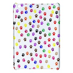 Paw Prints Dog Cat Color Rainbow Animals Apple Ipad Mini Hardshell Case by Mariart