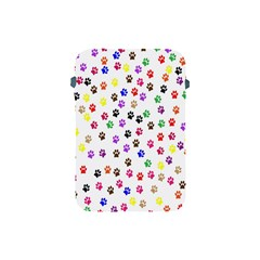 Paw Prints Dog Cat Color Rainbow Animals Apple Ipad Mini Protective Soft Cases by Mariart