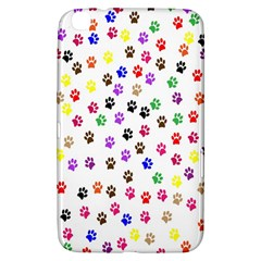 Paw Prints Dog Cat Color Rainbow Animals Samsung Galaxy Tab 3 (8 ) T3100 Hardshell Case  by Mariart