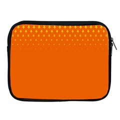 Orange Star Space Apple Ipad 2/3/4 Zipper Cases by Mariart