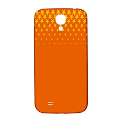Orange Star Space Samsung Galaxy S4 I9500/i9505  Hardshell Back Case by Mariart