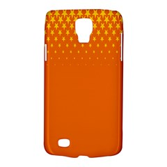 Orange Star Space Galaxy S4 Active by Mariart