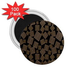 Magic Sleight Plaid 2 25  Magnets (100 Pack)  by Mariart