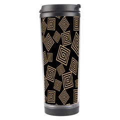 Magic Sleight Plaid Travel Tumbler by Mariart