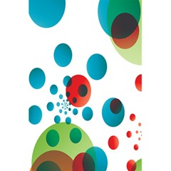 Polka Dot Circle Red Blue Green 5 5  X 8 5  Notebooks by Mariart