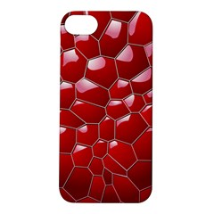 Plaid Iron Red Line Light Apple Iphone 5s/ Se Hardshell Case by Mariart