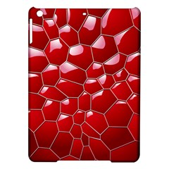 Plaid Iron Red Line Light Ipad Air Hardshell Cases by Mariart