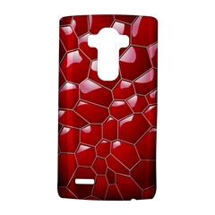 Plaid Iron Red Line Light Lg G4 Hardshell Case by Mariart