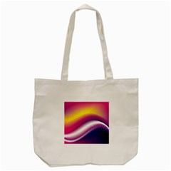Rainbow Space Red Pink Purple Blue Yellow White Star Tote Bag (cream) by Mariart