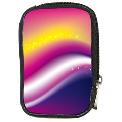 Rainbow Space Red Pink Purple Blue Yellow White Star Compact Camera Cases by Mariart