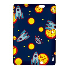 Rocket Ufo Moon Star Space Planet Blue Circle Kindle Fire Hdx 8 9  Hardshell Case by Mariart
