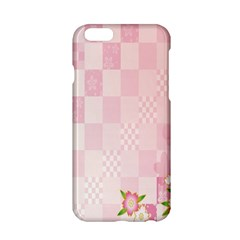 Sakura Flower Floral Pink Star Plaid Wave Chevron Apple Iphone 6/6s Hardshell Case by Mariart