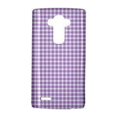 Plaid Purple White Line Lg G4 Hardshell Case by Mariart