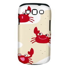 Sand Animals Red Crab Samsung Galaxy S Iii Classic Hardshell Case (pc+silicone) by Mariart