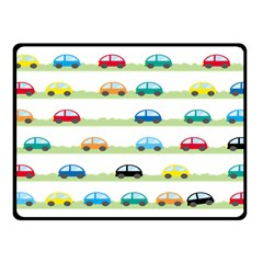 Small Car Red Yellow Blue Orange Black Kids Fleece Blanket (small) by Mariart