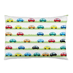 Small Car Red Yellow Blue Orange Black Kids Pillow Case (two Sides) by Mariart