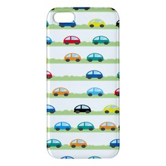 Small Car Red Yellow Blue Orange Black Kids Iphone 5s/ Se Premium Hardshell Case by Mariart