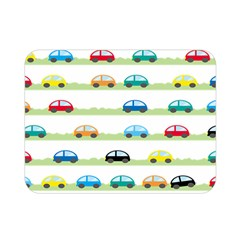 Small Car Red Yellow Blue Orange Black Kids Double Sided Flano Blanket (mini)  by Mariart