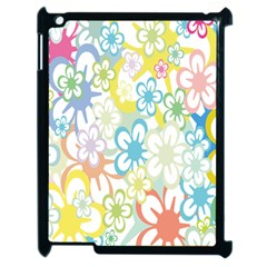Star Flower Rainbow Sunflower Sakura Apple Ipad 2 Case (black) by Mariart