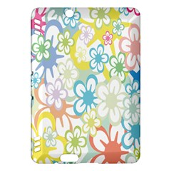 Star Flower Rainbow Sunflower Sakura Kindle Fire Hdx Hardshell Case by Mariart