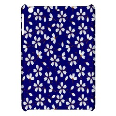 Star Flower Blue White Apple Ipad Mini Hardshell Case by Mariart