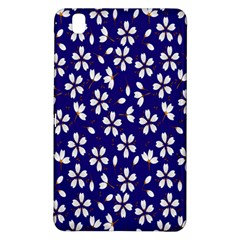 Star Flower Blue White Samsung Galaxy Tab Pro 8 4 Hardshell Case by Mariart