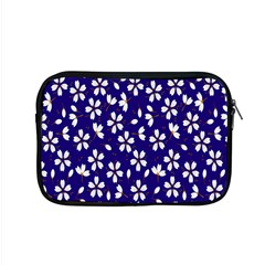 Star Flower Blue White Apple Macbook Pro 15  Zipper Case by Mariart