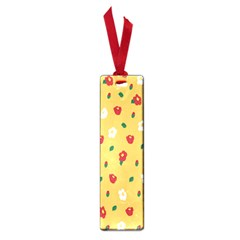 Tulip Sunflower Sakura Flower Floral Red White Leaf Green Small Book Marks by Mariart