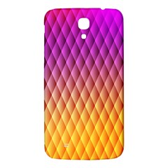 Triangle Plaid Chevron Wave Pink Purple Yellow Rainbow Samsung Galaxy Mega I9200 Hardshell Back Case by Mariart