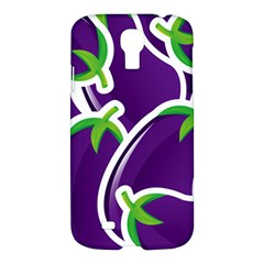 Vegetable Eggplant Purple Green Samsung Galaxy S4 I9500/i9505 Hardshell Case by Mariart