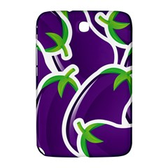 Vegetable Eggplant Purple Green Samsung Galaxy Note 8 0 N5100 Hardshell Case  by Mariart